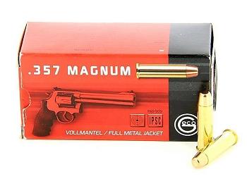 Geco 357 mag FMJ  157 grs