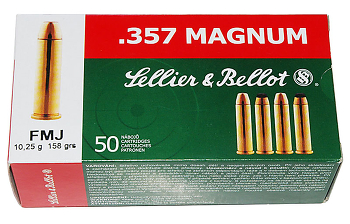 Sellier Bellot .357 mag FMJ 158 grs