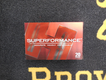 Hornady Superformance 7x64 SST 162 grs