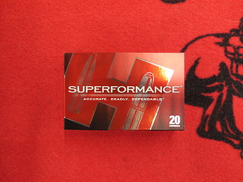 Hornady Superformance SST 270 win 140 grs
