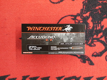 Winchester Accubond 270 WSM 140 grs