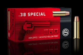Geco 38 spécial blindée pointe creuse 158g (x50)