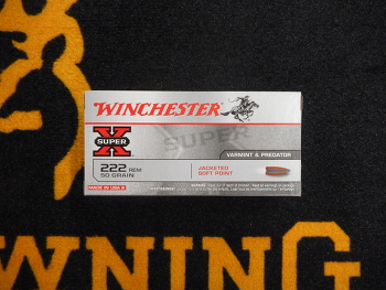 Winchester Power Point 222 rem 50 gr