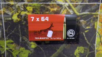 Geco Teilmantel 7x64 165 grs