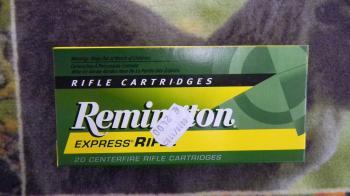 Remington PSP cal 222 rem 50 gr