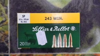 Sellier Bellot SP 243 win 100 gr