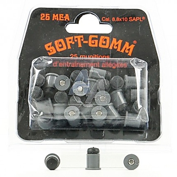 Soft gomm cal. 8,8 x 10