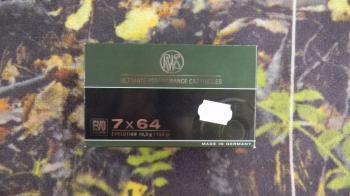 RWS Evolution 7x64 159 grs