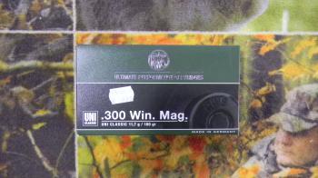 RWS UNI Classic 300 win 180 grains