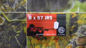 Geco Soft Point 8x57 JRS 185 grains