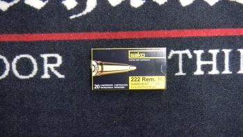 Sako Gamehead 222 rem 50 grs