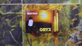 Norma Oryx 280 rem 156 grains