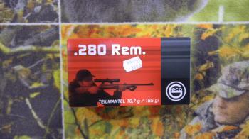 Geco Demi-blindée 280 rem 165 grains