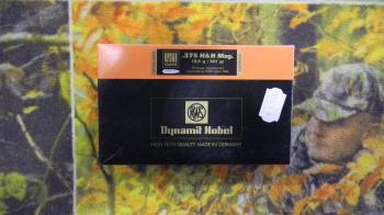RWS 375 H et H mag UNI Classic 301 grains