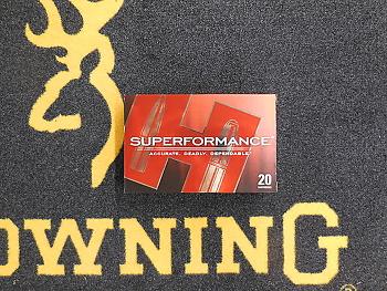 Hornady Superformance SST 280 rem 139 grs