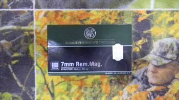 RWS EVO 7mm rem mag 159 grains