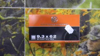 RWS Uni Classic 9,3x62 293 grains