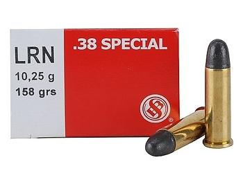 Sellier Bellot 38 spécial LRN 158 grs
