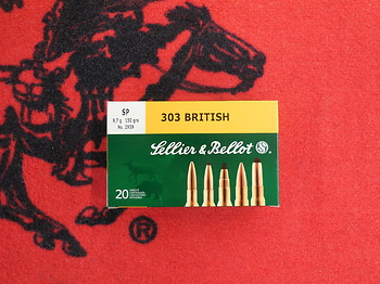 Sellier Bellot 303 British SP 150 grs