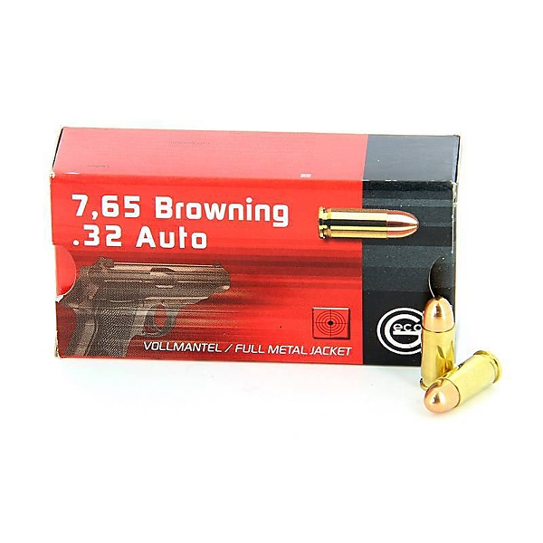 Geco 7,65 Browning FMJ 73 grs