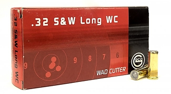 Geco 32 S&W long Wad Cutter 100 grs