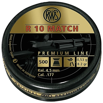 RWS R10 Match 4,5 (x500)