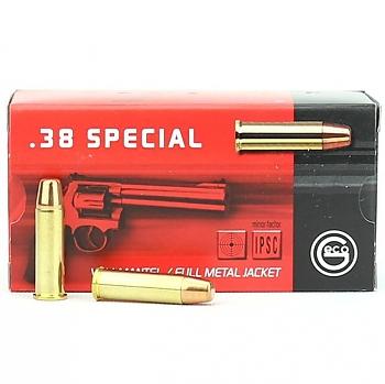 Geco 38 Spécial FMJ 158 grs