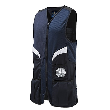 Beretta Men's Stretch Shooting Vest - Navy