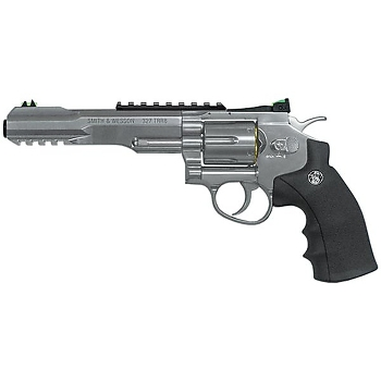 Smith et Wesson 327 TRR8 nickelé bille acier
