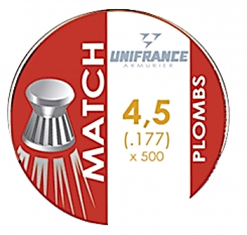 Unifrance 4,5 plombs plats