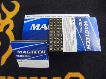 Magtech N°1 1/2 Small Pistol Pistolet et Revolver (x100)