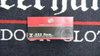RWS T-Mantel 222 rem 50 grs