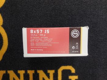 Geco Target 8x57 JS SP 185 grs (x50)