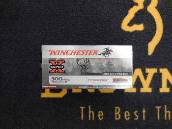 Winchester Power Point 300 WSM 180 grs