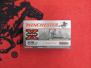 Winchester Power Point 308 win 180 grs