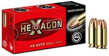 Geco 45 auto hexagon 200 grs