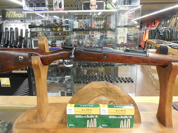 Mauser Model 98 8x64S + 2 boites de balles