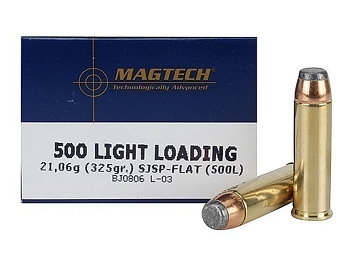 Magtech 500 S/W mag Light Loading 325 grs