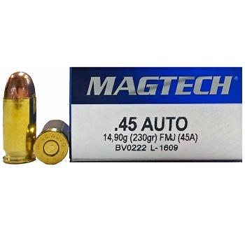 Magtech 45 Auto FMJ 230 grs (x50)