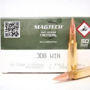 Magtech 308 win FMJ 150 grs