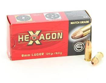 Geco 9 mm Hexagon 124 grs
