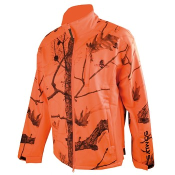 Somlys BLOUSON POLAIRE SOFTSHELL CAMOUFLAGE ORANG