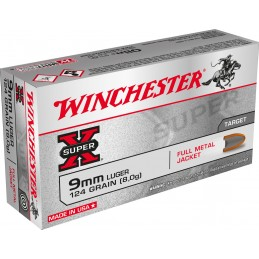 Winchester 9 mm FMJ 124 grs...