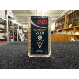 CCI Copper 22 21 grains 22 LR