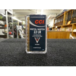CCI Pistol Match 40 Grains...