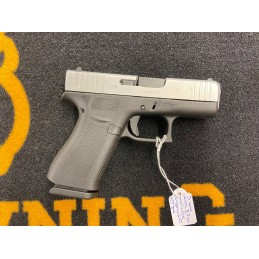 Glock 43X Silver 9 mm